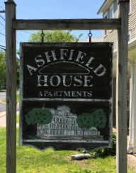 ashfield house sign